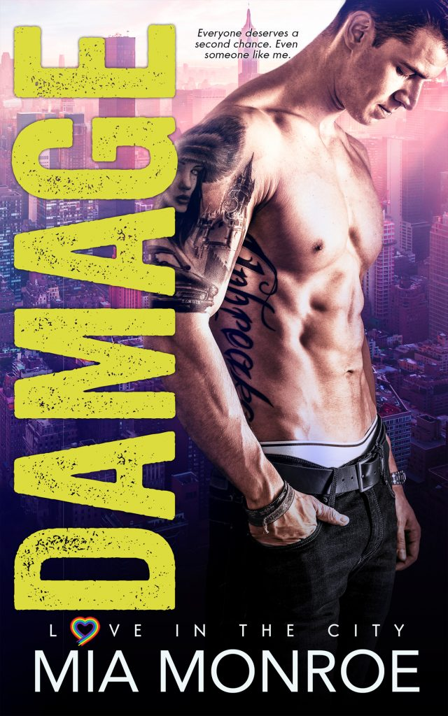 Damage by Mia Monroe - Gay Romance Book Cover