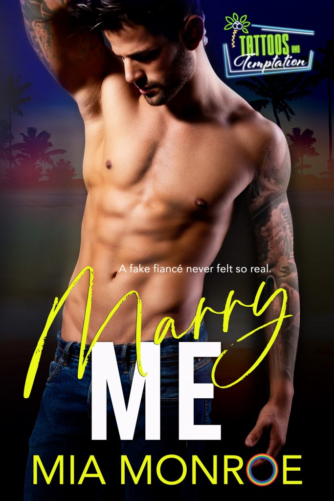 Marry Me by Mia Monroe - Gay Romance Ebook Cover