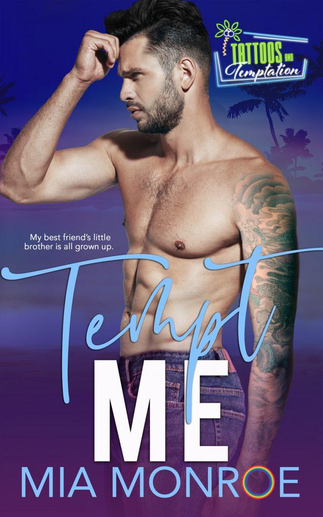 Tempt Me by Mia Monroe - Gay Romance Ebook Cover